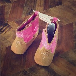Other - 9-12 Month Cowgirl booties